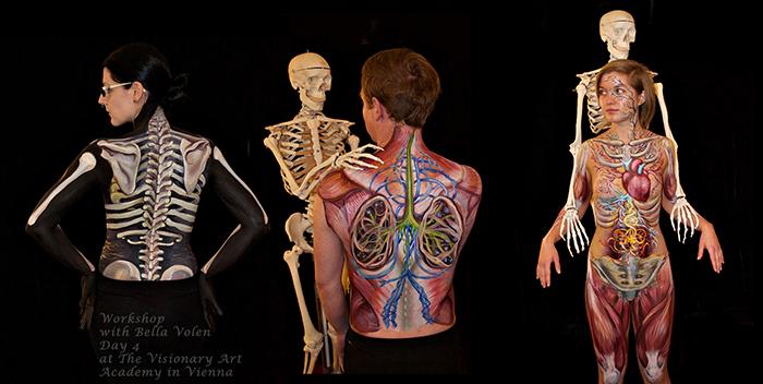 Bodypainting Workshops Body Art Classes Online Bodypainting Classes